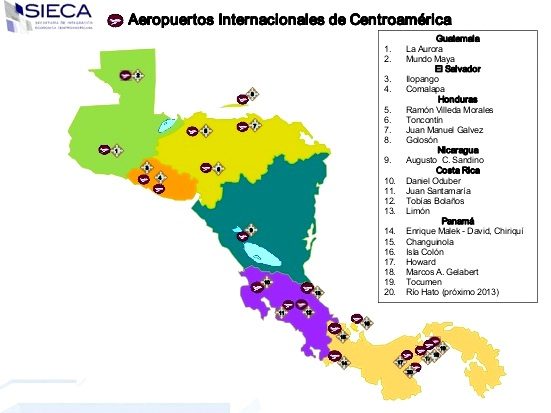 Aeropuertos de Centroamrica  Amrica Central