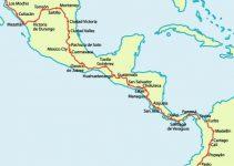 ¿Cuál es la carretera panamericana en Centroamérica?