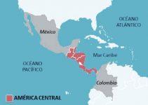 Qué océanos rodean América Central
