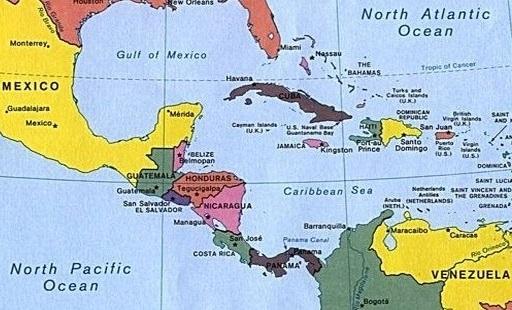 Ventajas y desventajas de América Central [según ubicación]