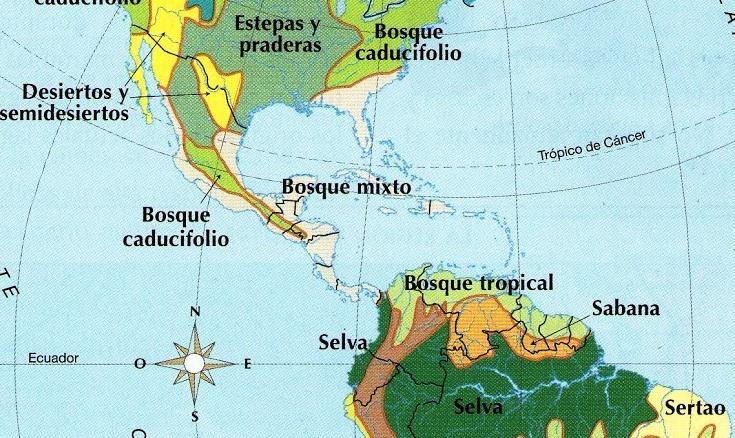 Biomas de América Central