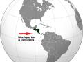 Ubicación geográfica de América Central